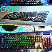 Хит!Беспроводная механическая клавиатура Logitech G915 (тонкая 22mm) Ташкент