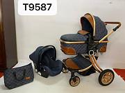 Новый детский коляска 2в1 ДОСТАВКА БЕСПЛАТНО Ташкент